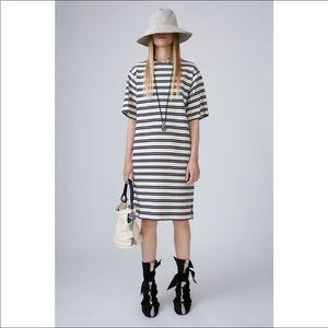 Acne Studios Dodora Striped Dress